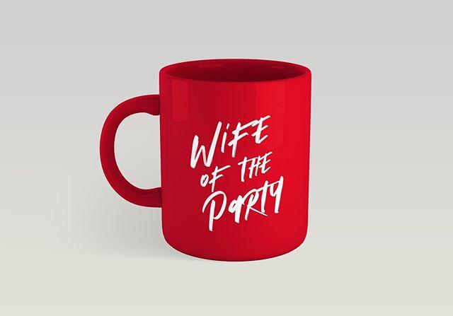 Cause we like to party... . . Oh, yeah we make custom coffee mugs too.. Send an email now to get your custom mug. . . . #engayged #mrsandmrs #mrandmr #blackgaywedding #tysintrell #bridenavy #groomnavy #munaluchi