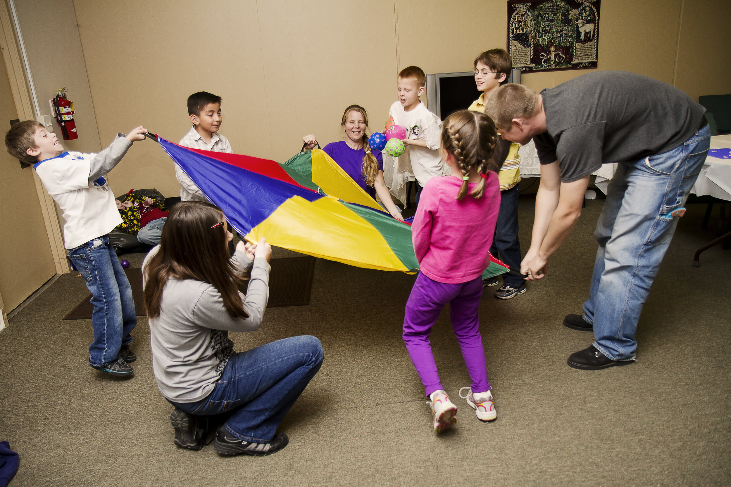 REVIVE - Join us for Revive, All in Need's monthly Respite program. These sessions promote social interactions, and allow children to participate in gross and fine motor activities in a sensory-based atmosphere.