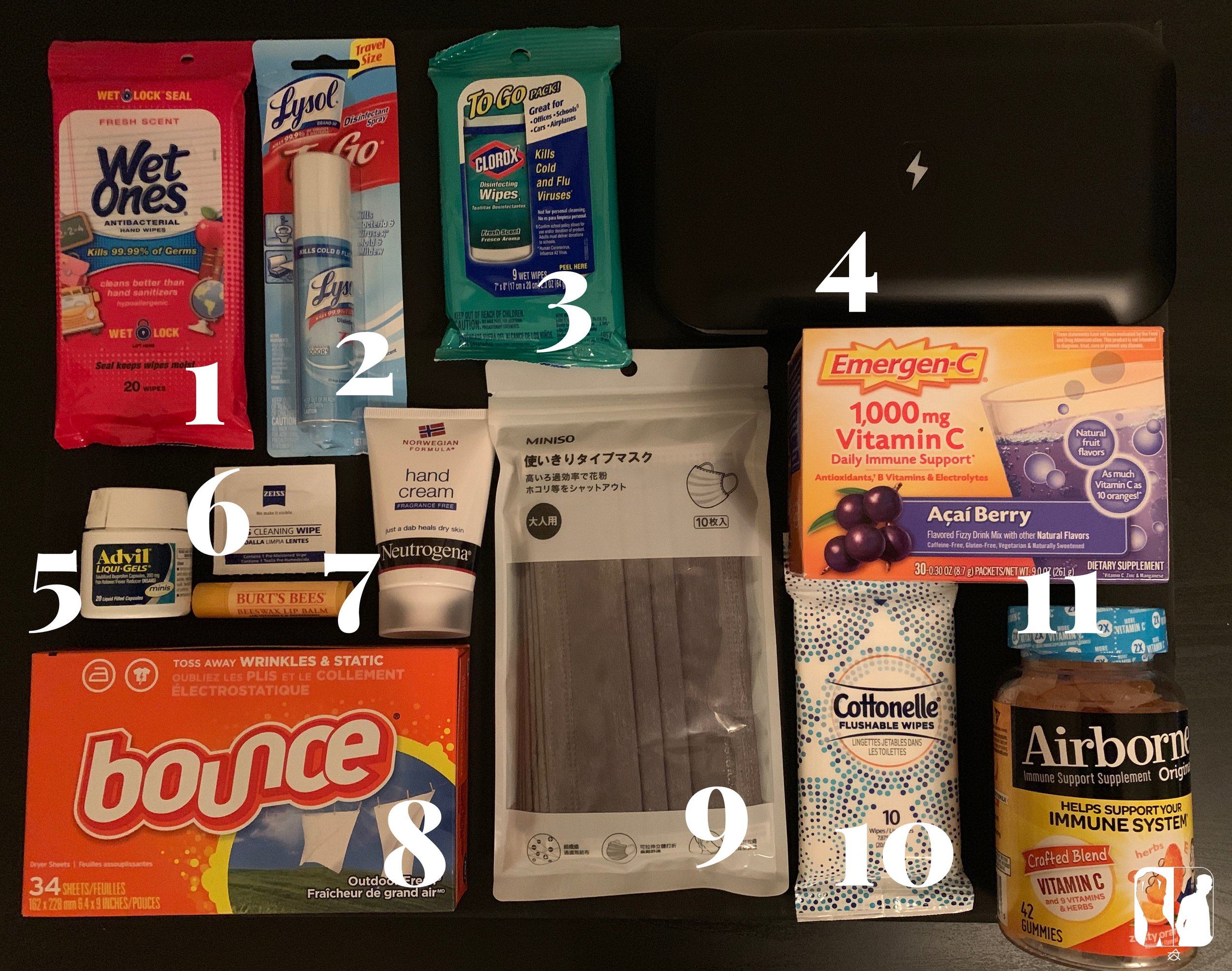 The Essential Packing List for the Germaphobe — Dance Travel