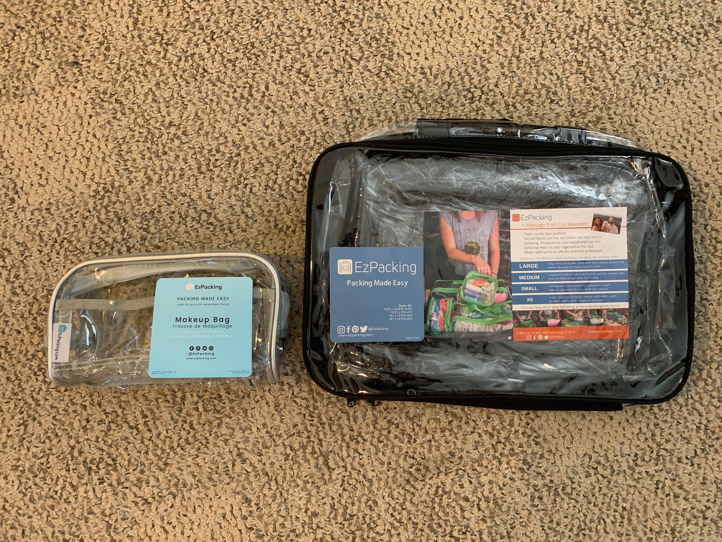 EZ Packing Makeup Bag and Starter Set