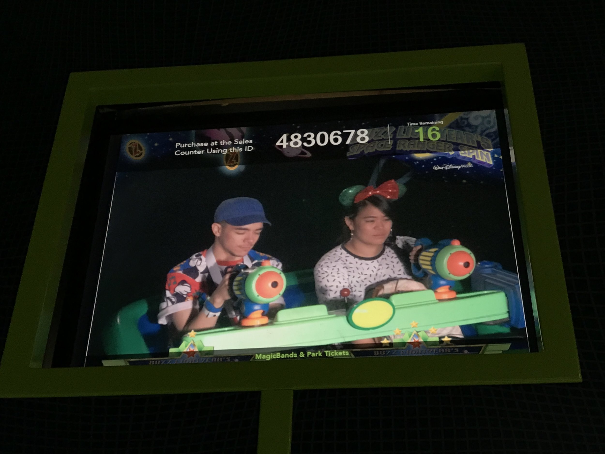 Riding the Buzz Lightyear Ride at Disney World is just not as fun as Disneyland's version.