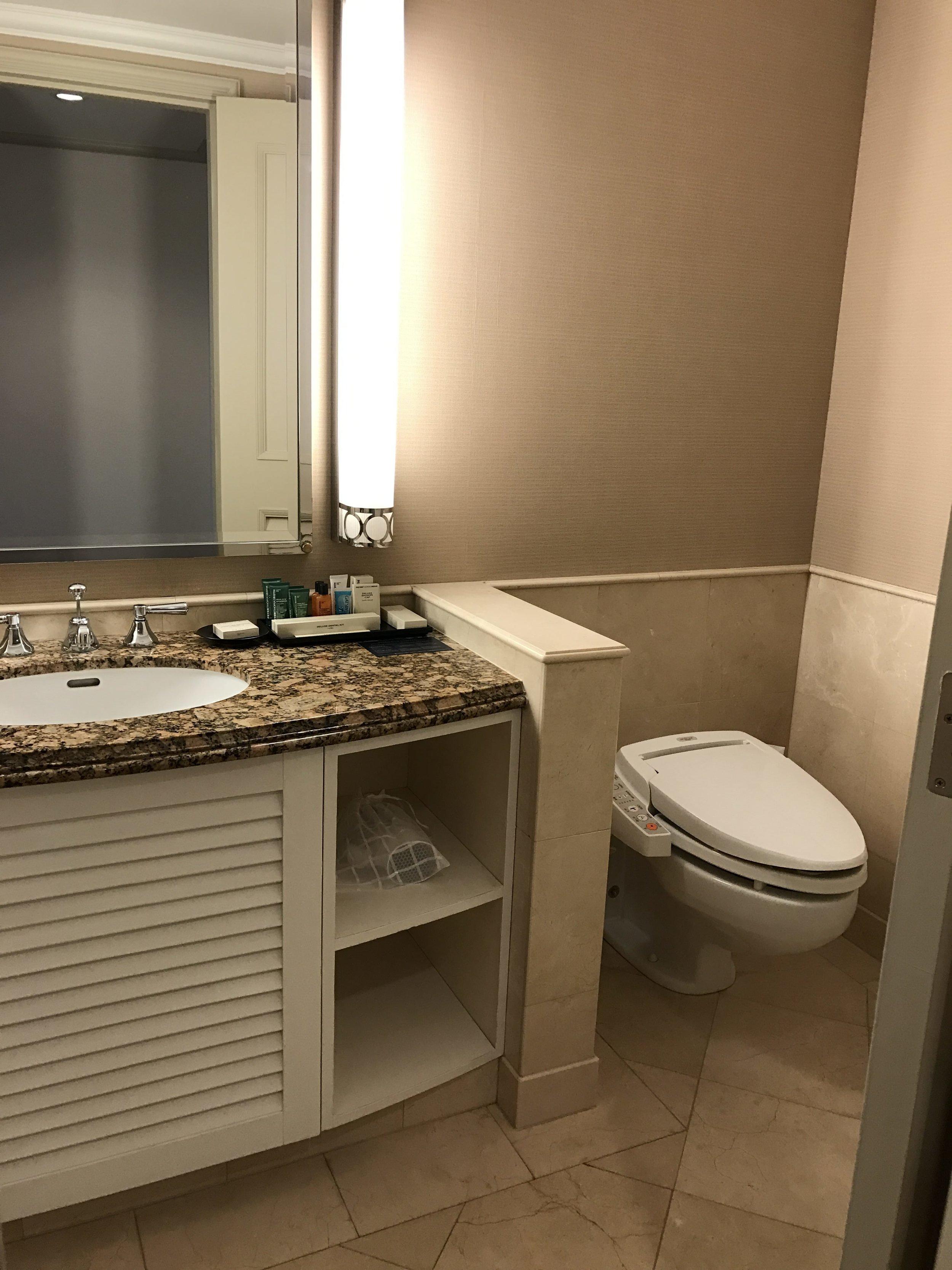 Bathroom view from the door