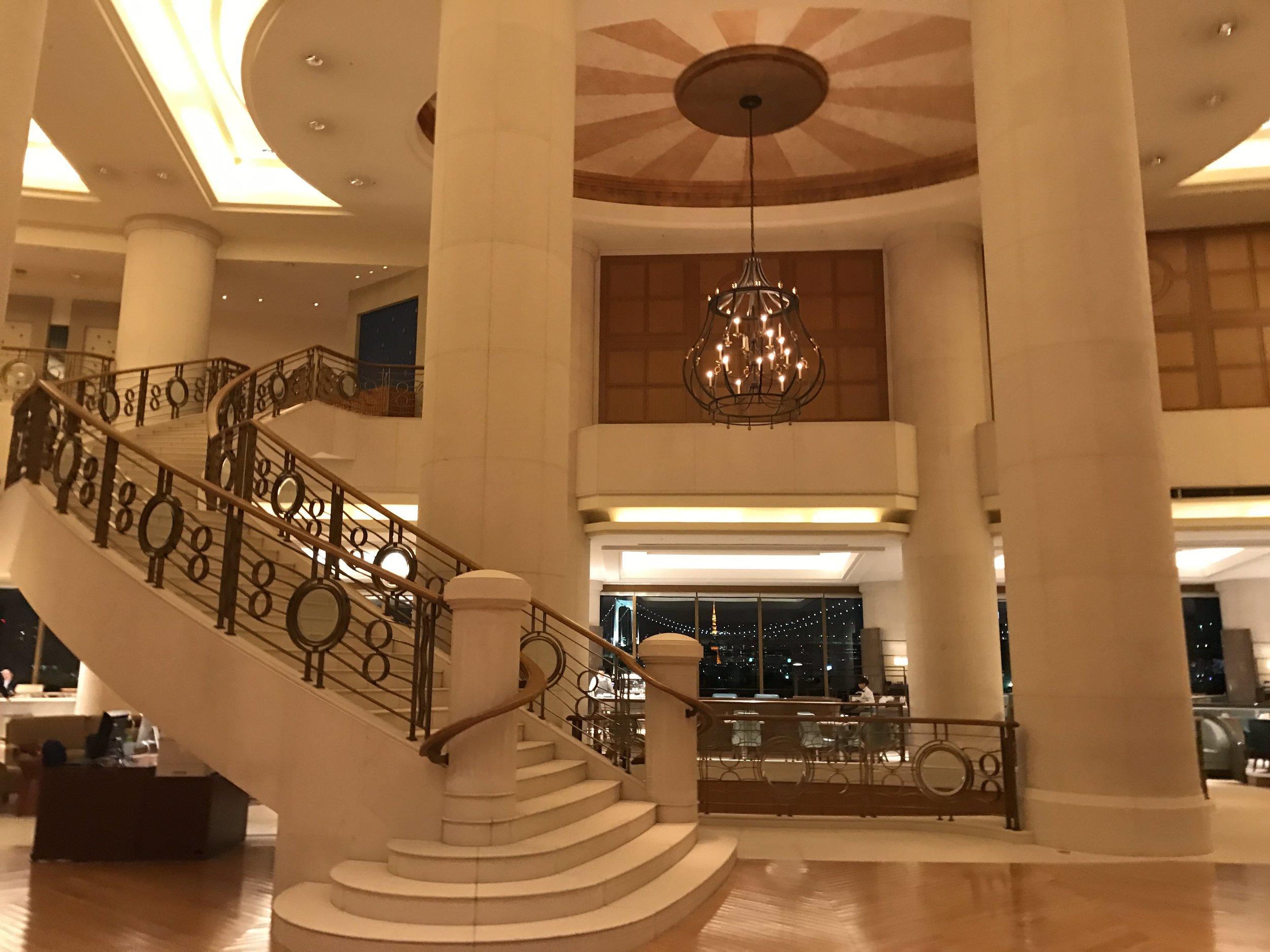 Hilton Tokyo Odaiba lobby