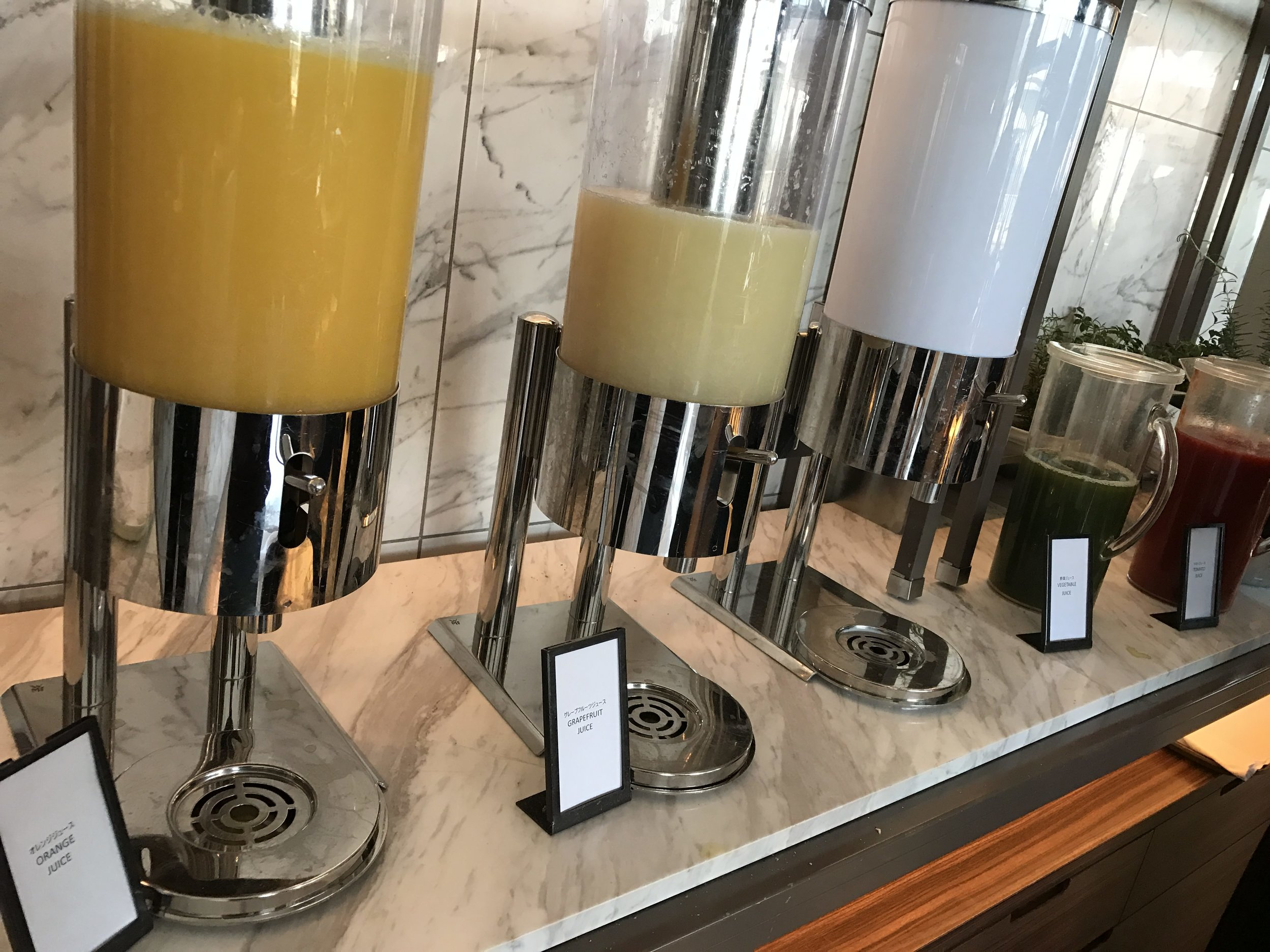 Juices - LOVED the green juice