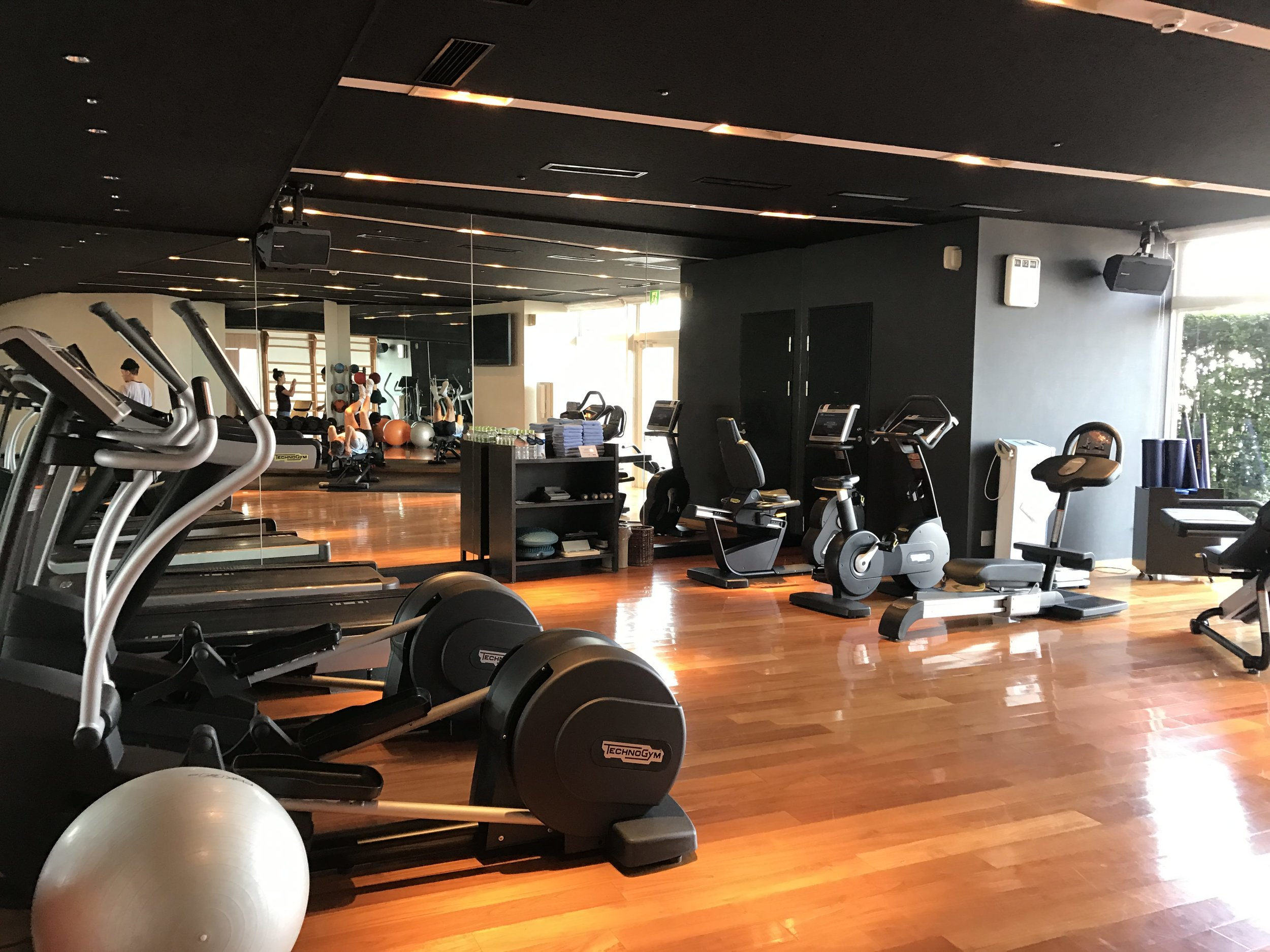 Well equipped gym with up to date machines and everything you need for a great work out.