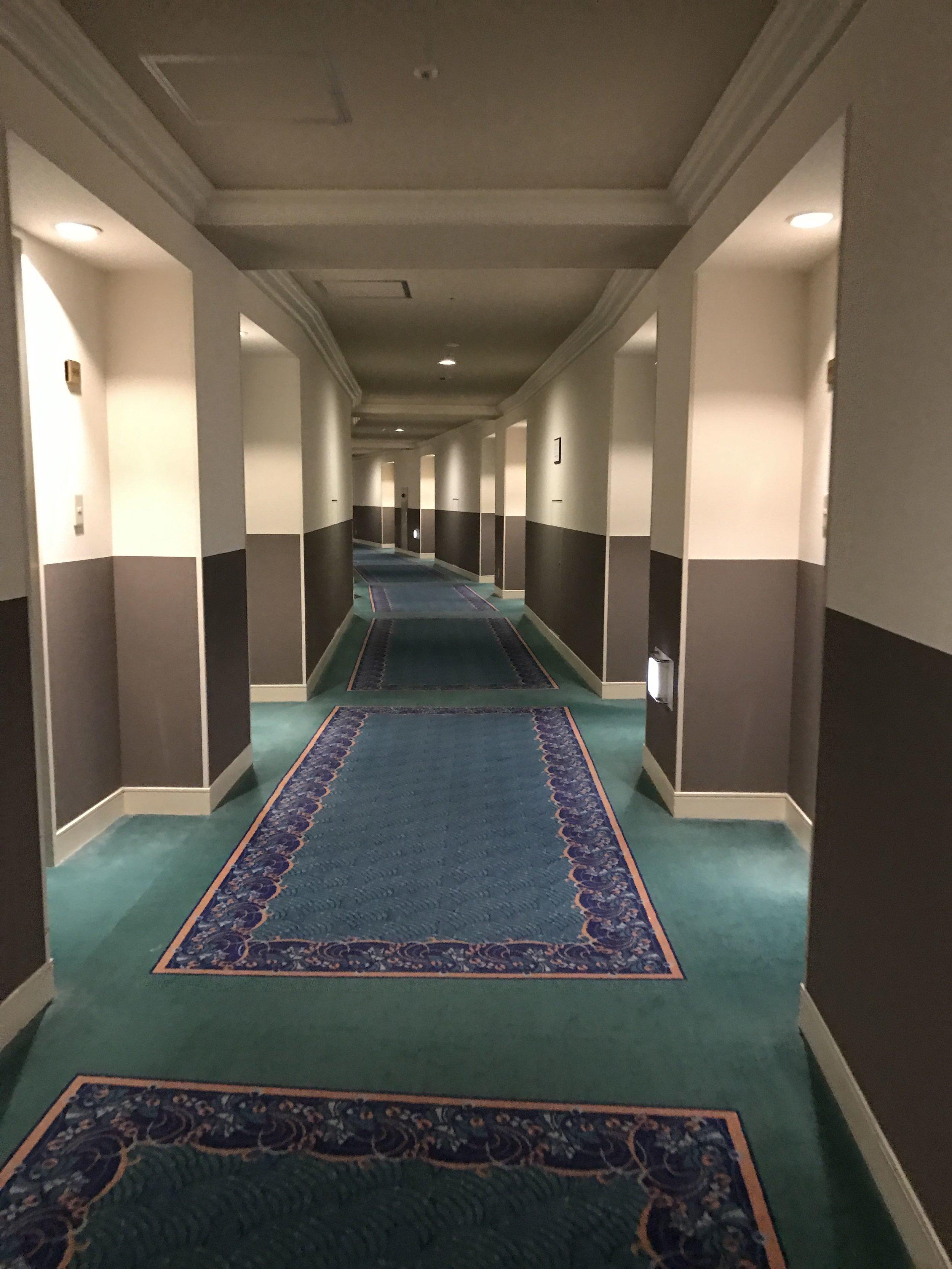 Guest room Hallways