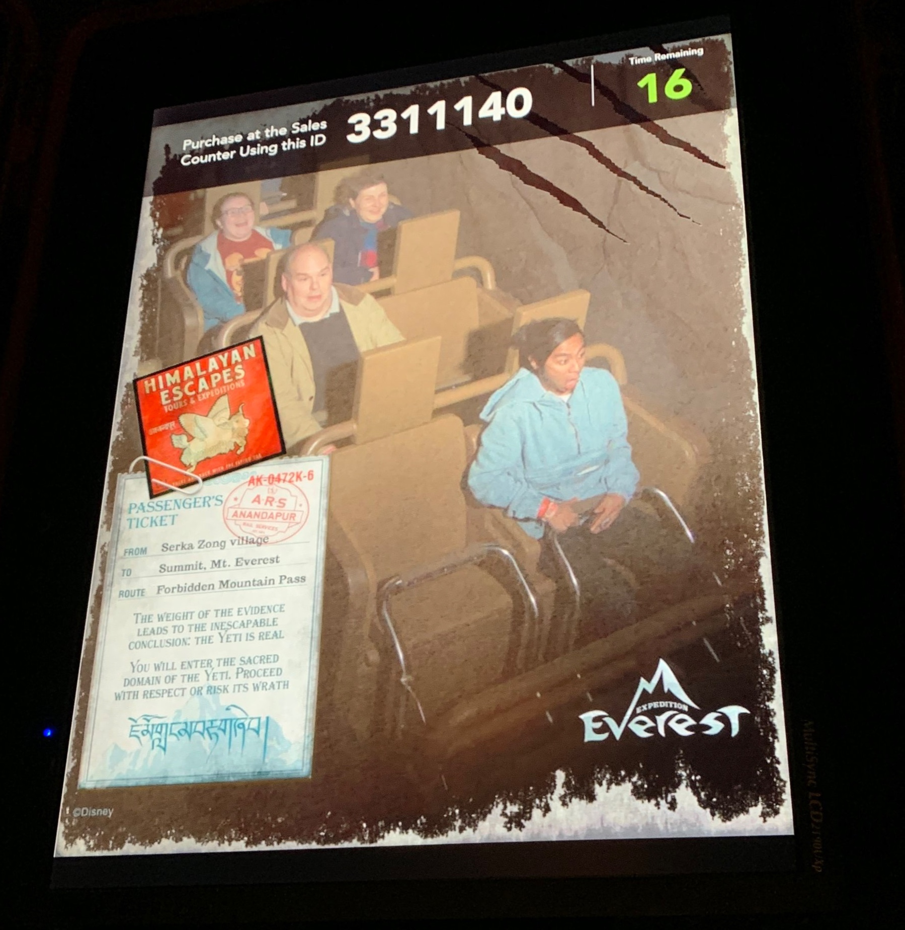 Empty Seats on Expedition Everest