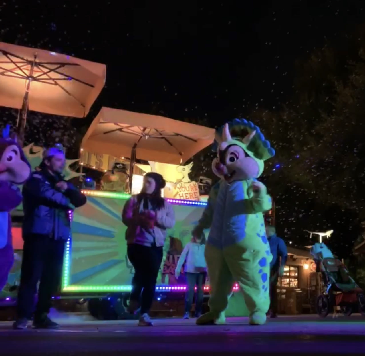 Dance party with Chip n Dale!