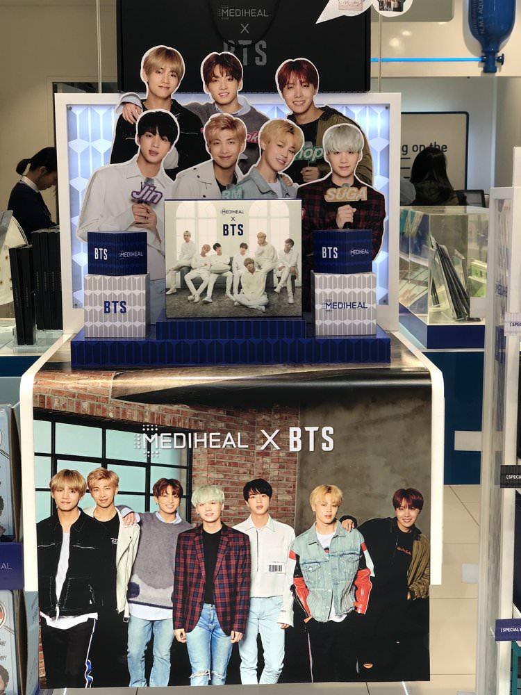 BTS x Mediheal collaboration
