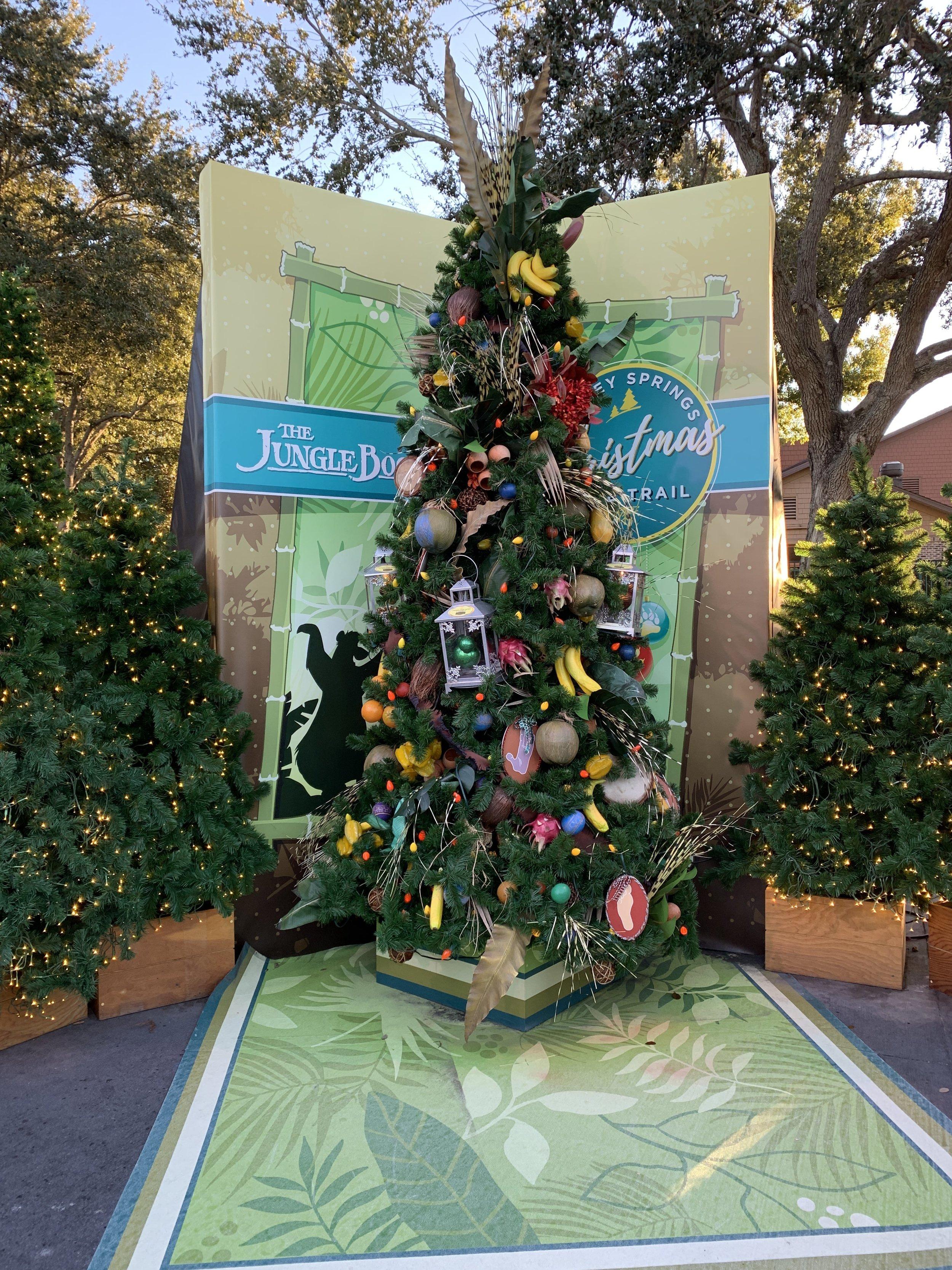 The Jungle Book Tree. Super cute!