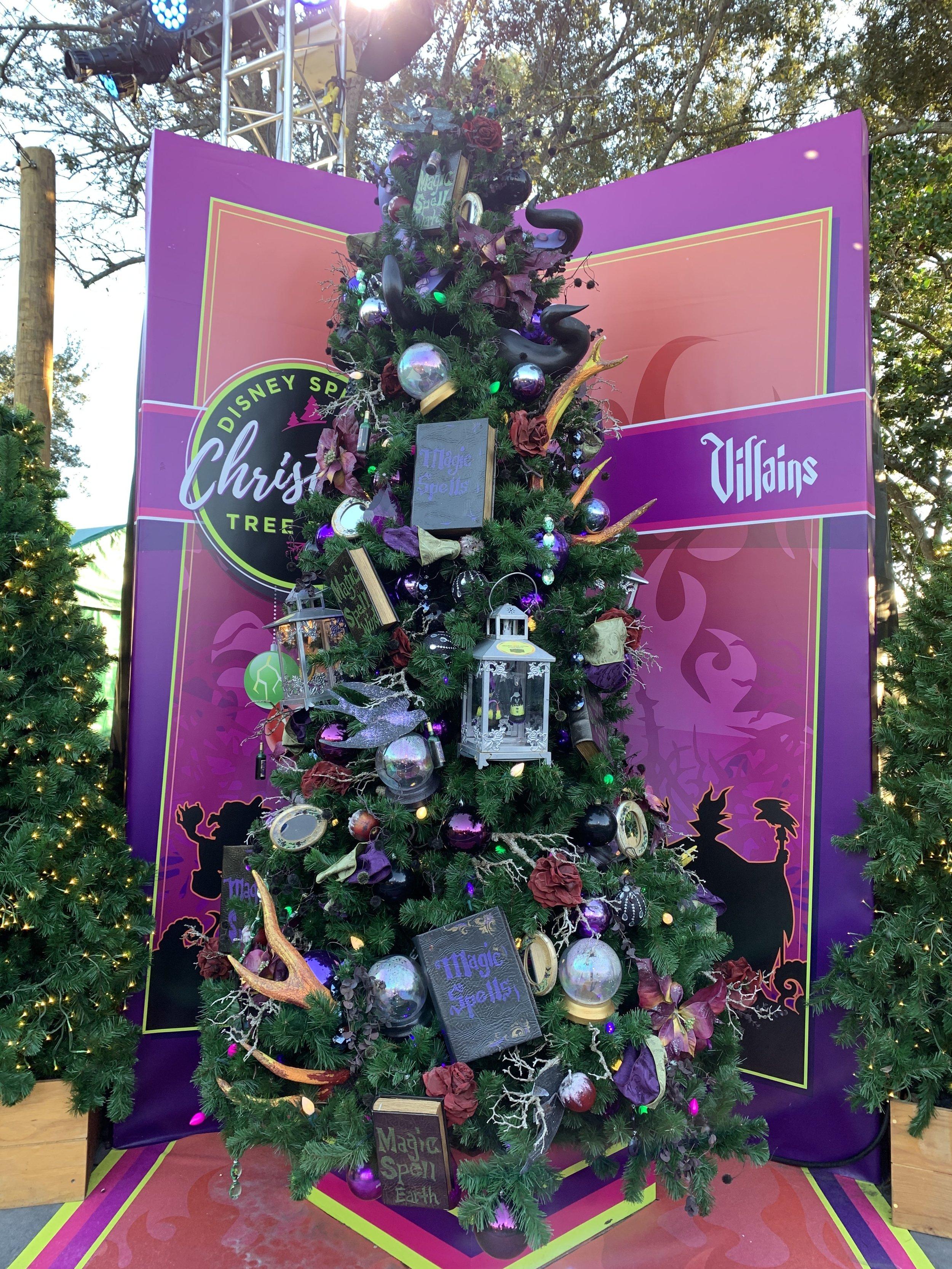 Disney's Villains Tree