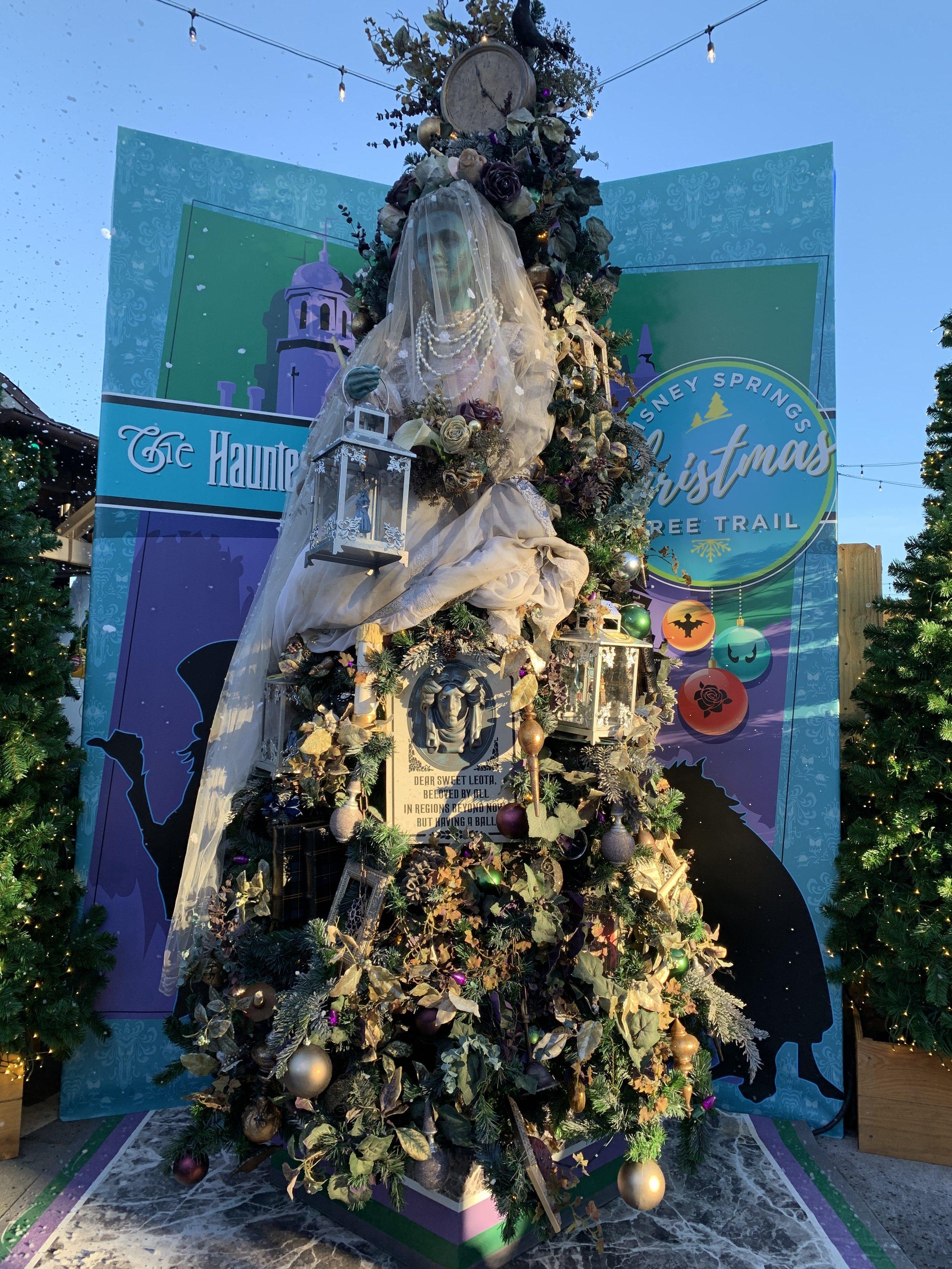 The Haunted Mansion Tree. Super creepy!