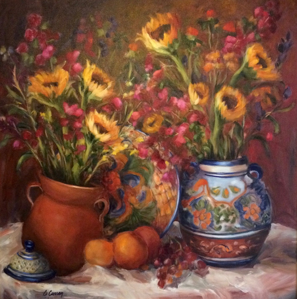 SOUTHWESTERN STILL LIFE   36X36, SOLD  Giclees Available