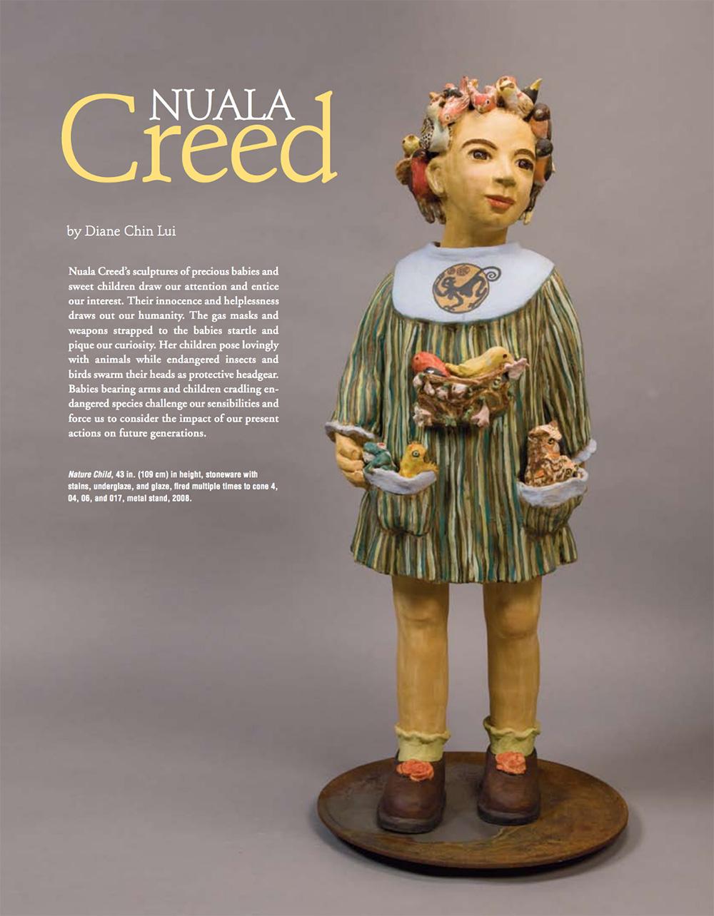 Diane Chin Lui,  Ceramics Monthly , 2009 (PDF)