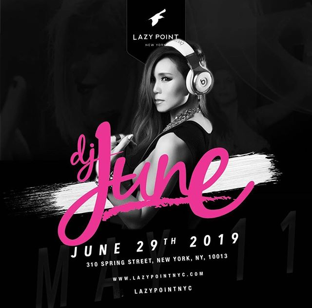 Tonight we have music by @djjunenyc