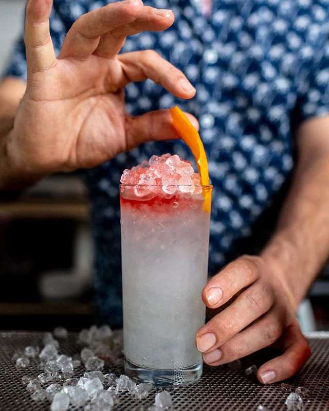 Ice cold drinks for your hot girl or hot boy summer. #lazypointnyc