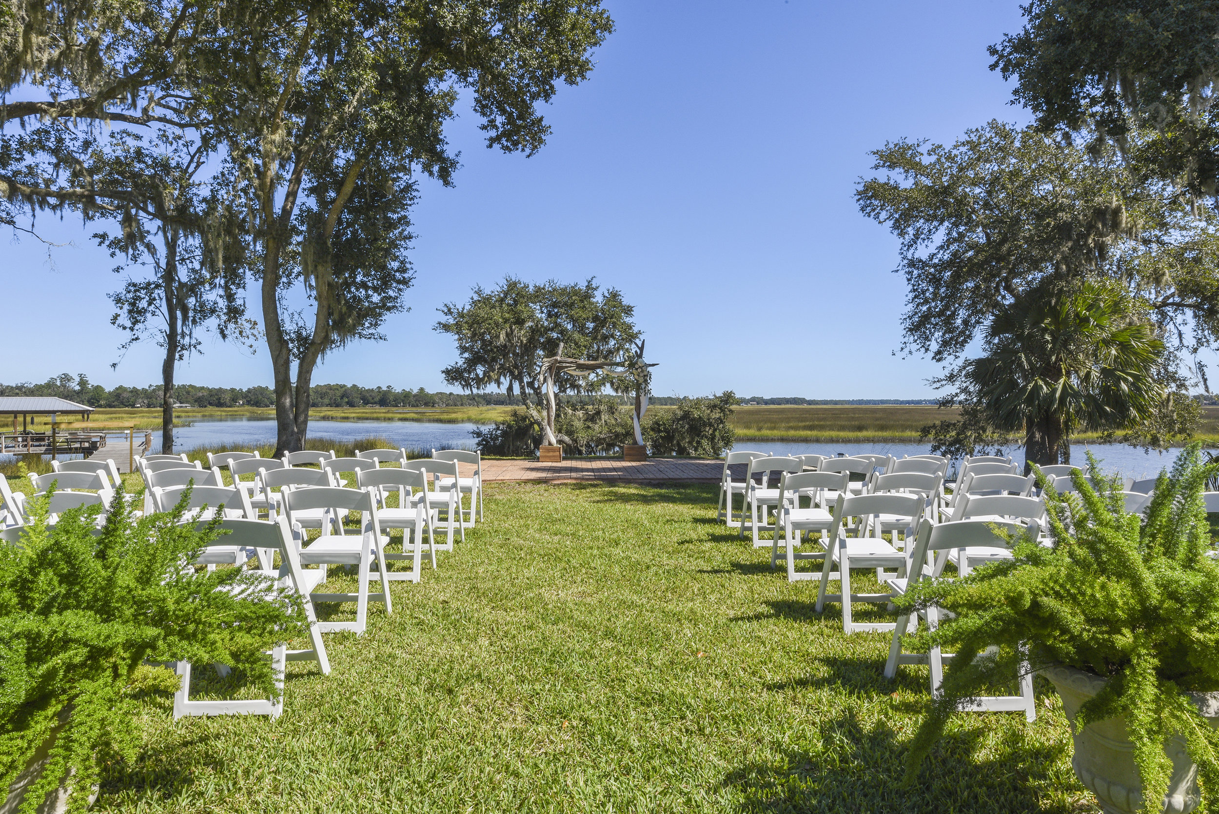 THE PROPERTY - Gorgeous waterfront viewsNumerous Ceremony options