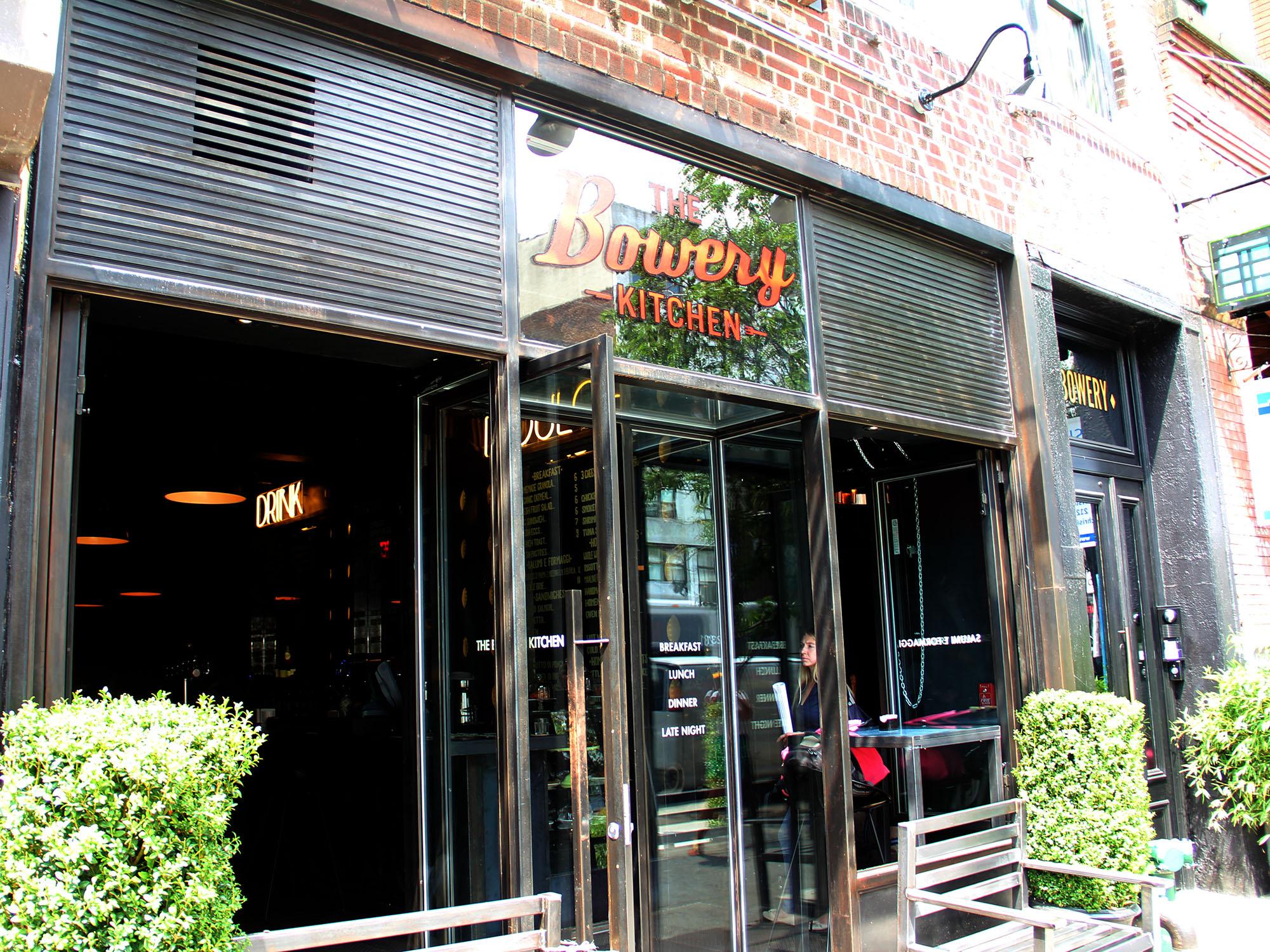 Bowery Kitchen  Manhattan, NY