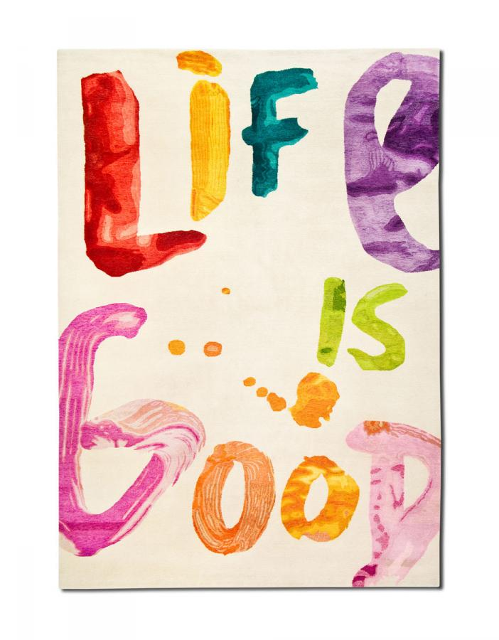 Words Hand Writings - Life is good