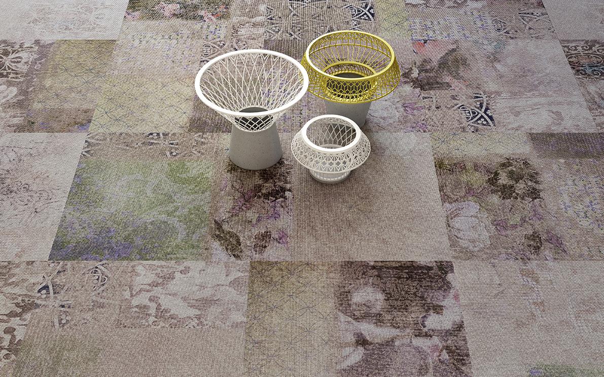 Object Carpet Freestile - Helsinki 0803