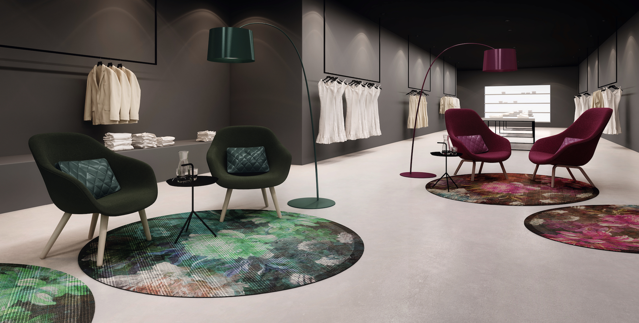 Object Carpet RugXStyle - Antwerp 0413 & 0423