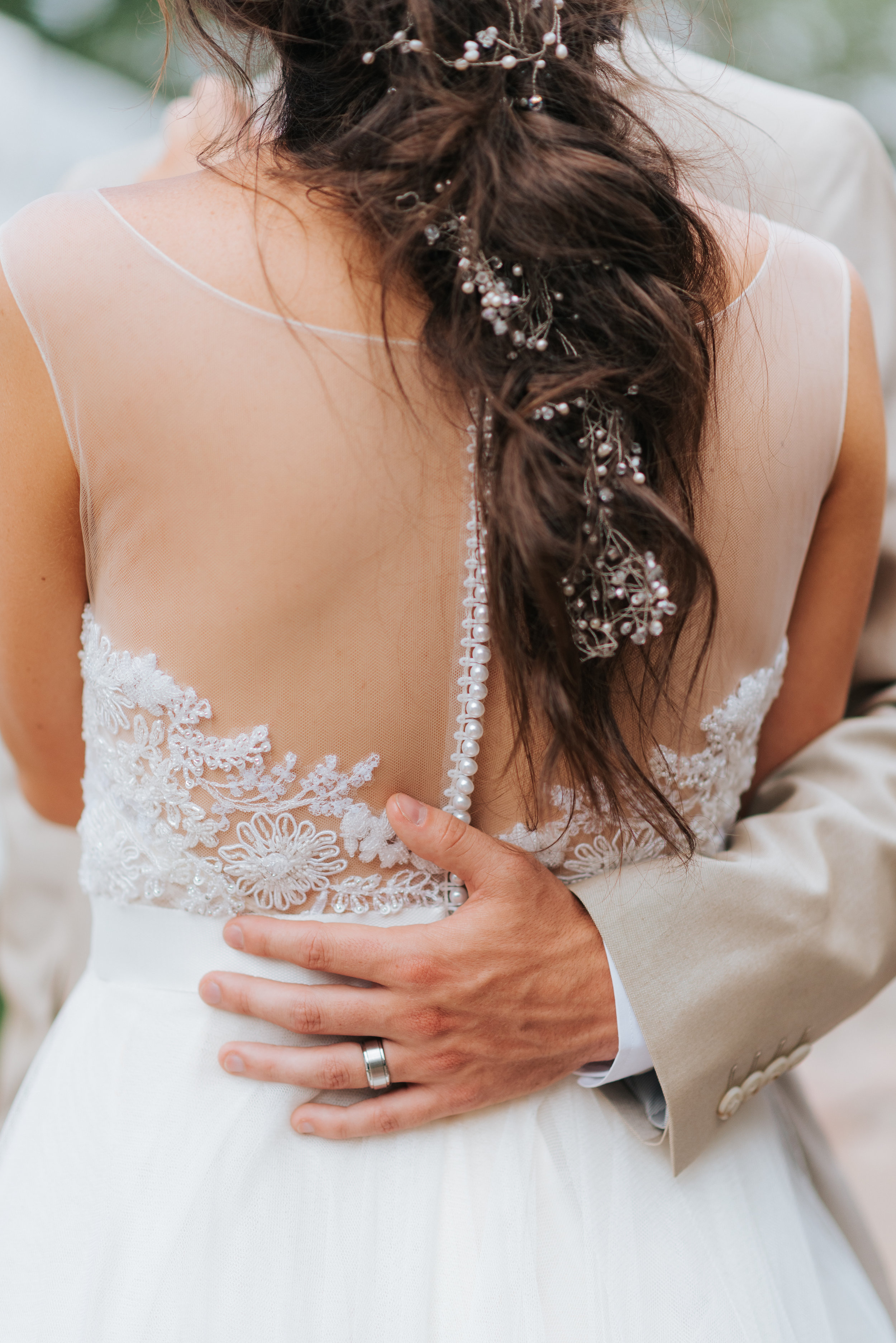 Long Island Wedding Makeup and Hair with Hair Extensions