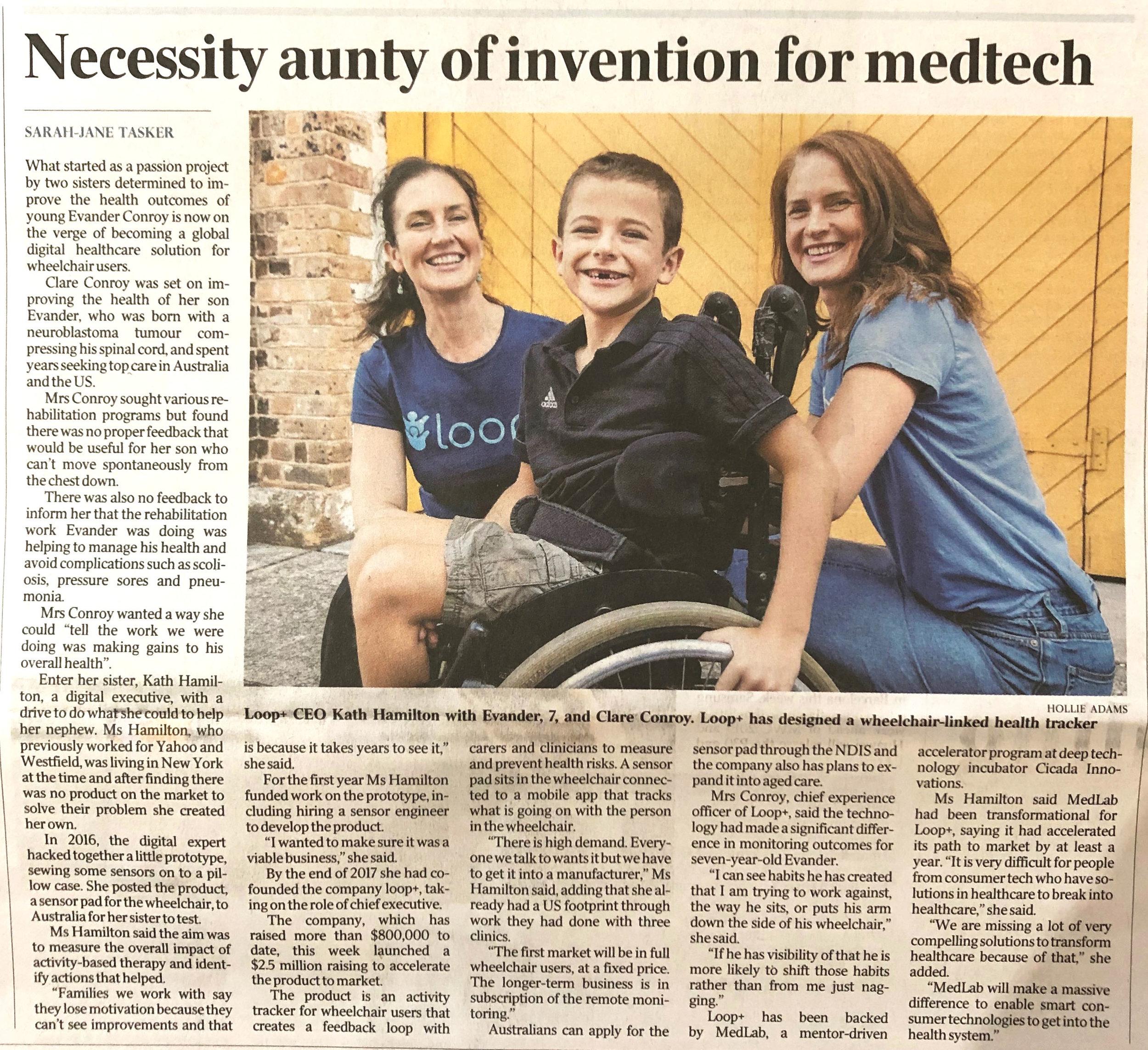 Australian Aunty of Invention