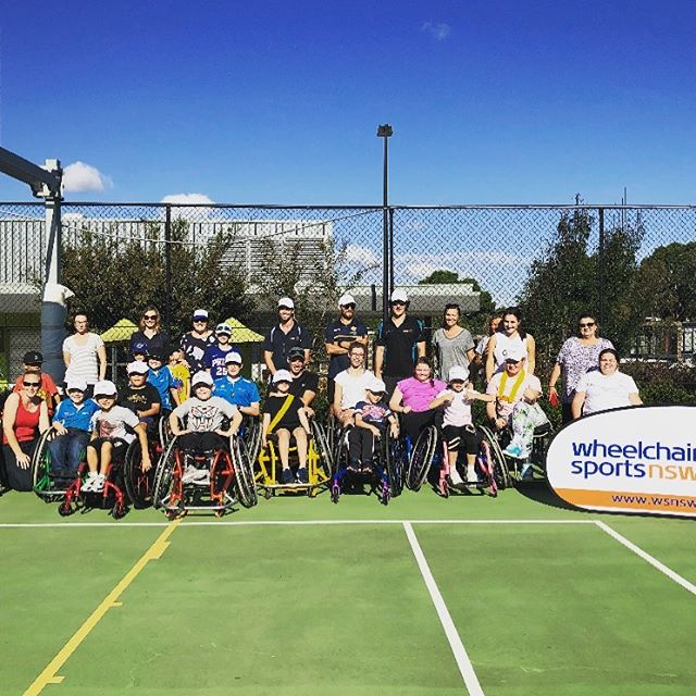 We had a great time over the last two days hanging out with the kids, parents, carers and coaches at the @wheelchairsportsnsw kids holiday camp at #royalrehab. It is great getting to know the awesome families more and more each holiday break. @tennisaustralia @sportsnewsnsw @sydneymetroblues #wheelchairsportscamp #wheelchairsports #wsnsw @invictuskids @varietynsw_act #wheelchairtennis #wheelchairbasketball #wheelchairtracking #activitytracking #wheelchairlife