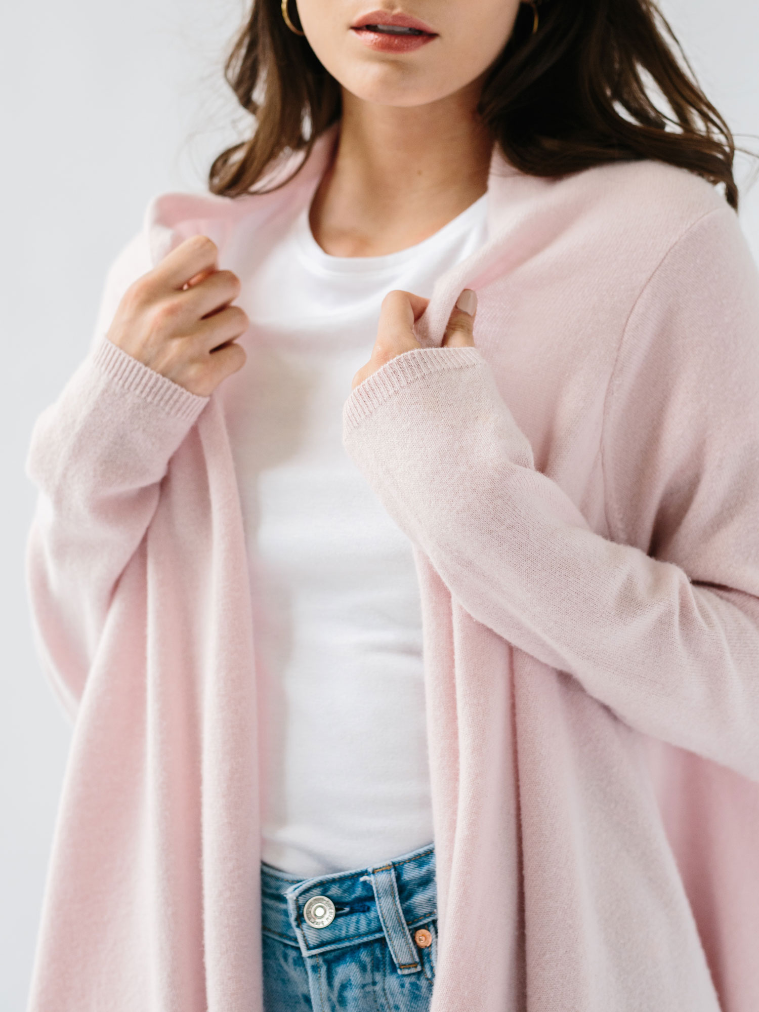 pink cashmere gift for woman