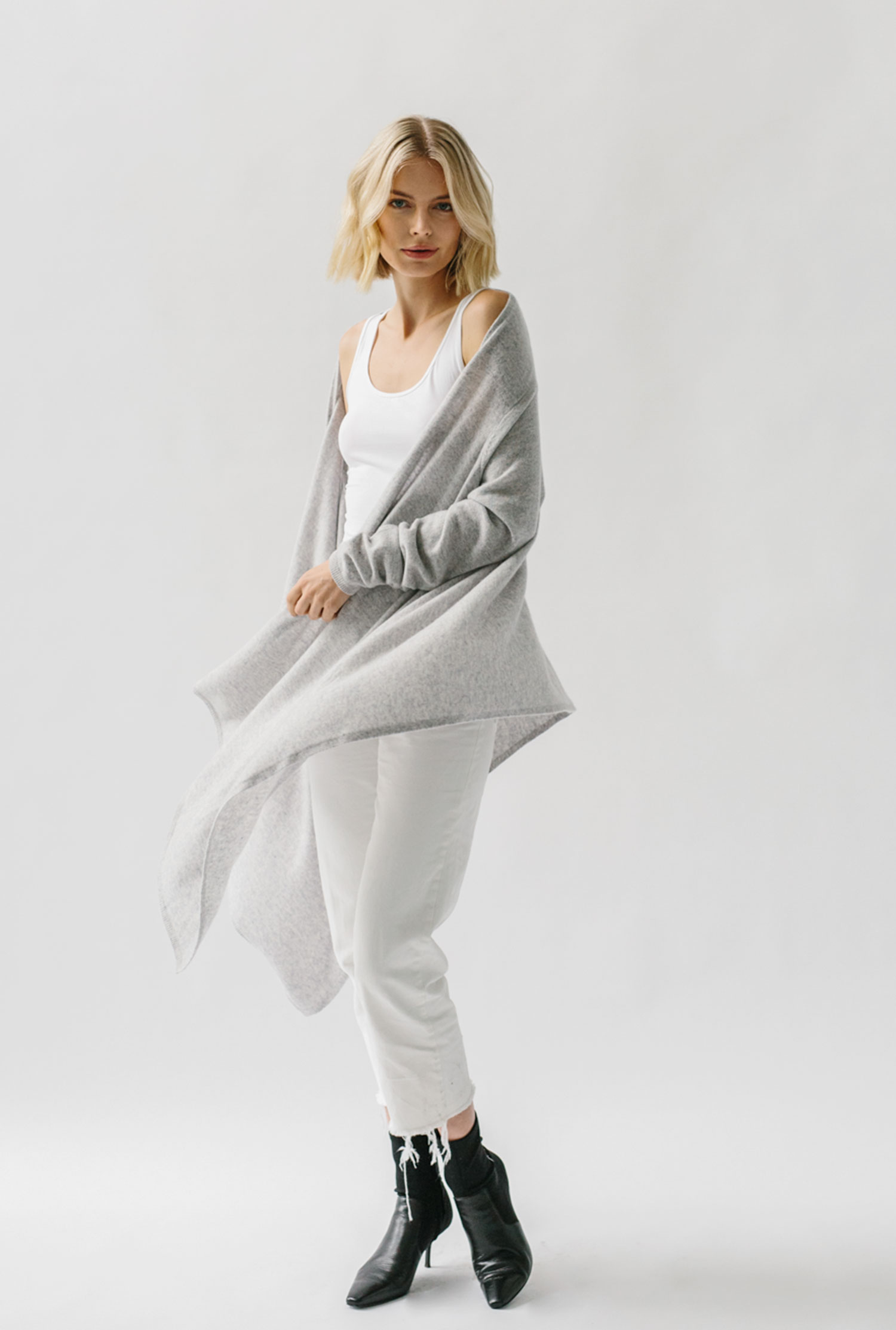 women's cashmere sweater wrap