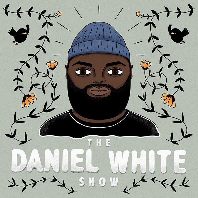 I had the privilege of creating this artwork for the super charismatic @freedaniel and his latest project @thedanielwhiteshow ! Daniel interviewed me earlier this year for his other podcast (@thefreepizzapodcast) which has been amazing to follow, so I'm very excited to hear what this new show brings. Congrats DW and thanks for trusting me with this design! 🥂 . . . . #illustration #illustrator #graphicdesign  #thedanielwhiteshow #podcast