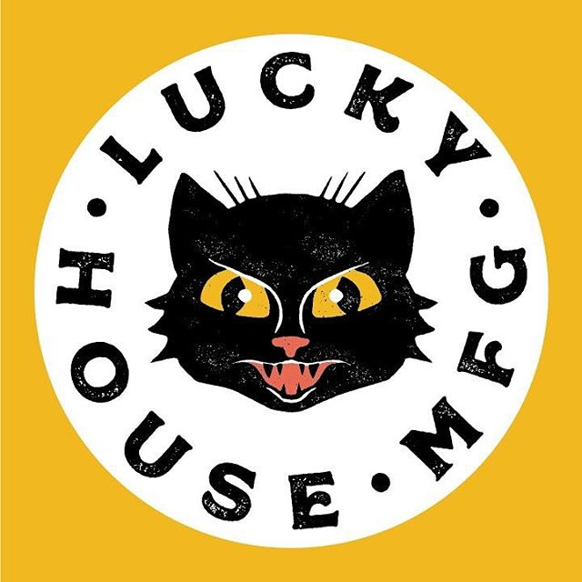 We are so close to opening! I couldn't be more excited to own a business w/ my best friend & to have something that drives me as much as this place. Lil black cat logo for good luck (despite what people say 😏). . . . #blackcat #logo #illustration #somervillema #screenprinting #graphicdesign