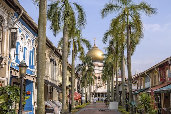 Lhoko Kampong Glam w Sultan mosque .jpeg