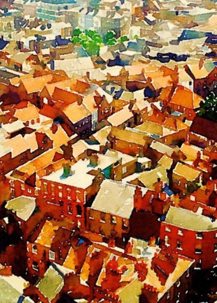 Rooftops in York