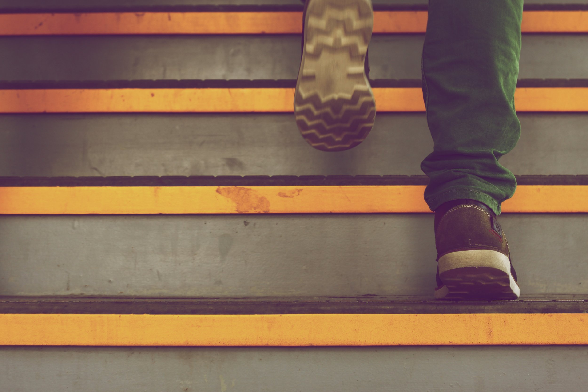 Steps do not overwhelm students
