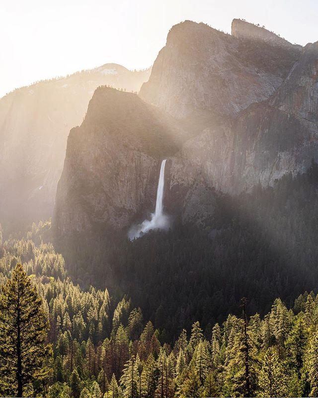 Early mornings in Yosemite National park. • • • Tags: #pnwwonderland #california #pnwisbeautiful #pnwphotographer #staypnw #californiaadventure #californiacaptures #californialove #waterfall #waterfalls #adventure #waterfallwednesday #hiking #backpacking #hike #explore #sunrise #goldenhour #nature #yosemite #yosemitenationalpark #yosemitevalley