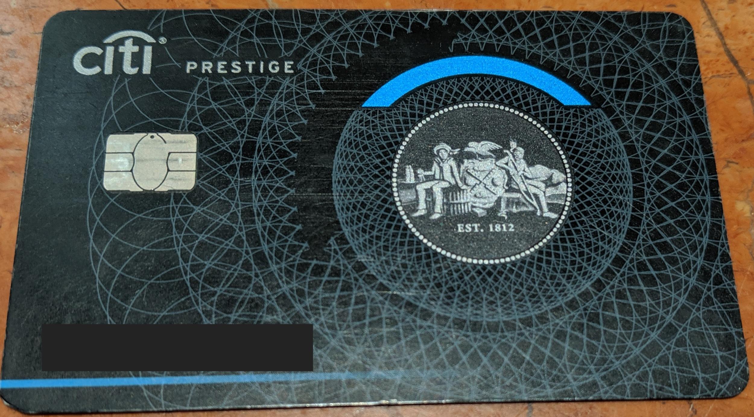 My Favorite Credit Card Perk - Citi Prestige 8th Night Free — Roam