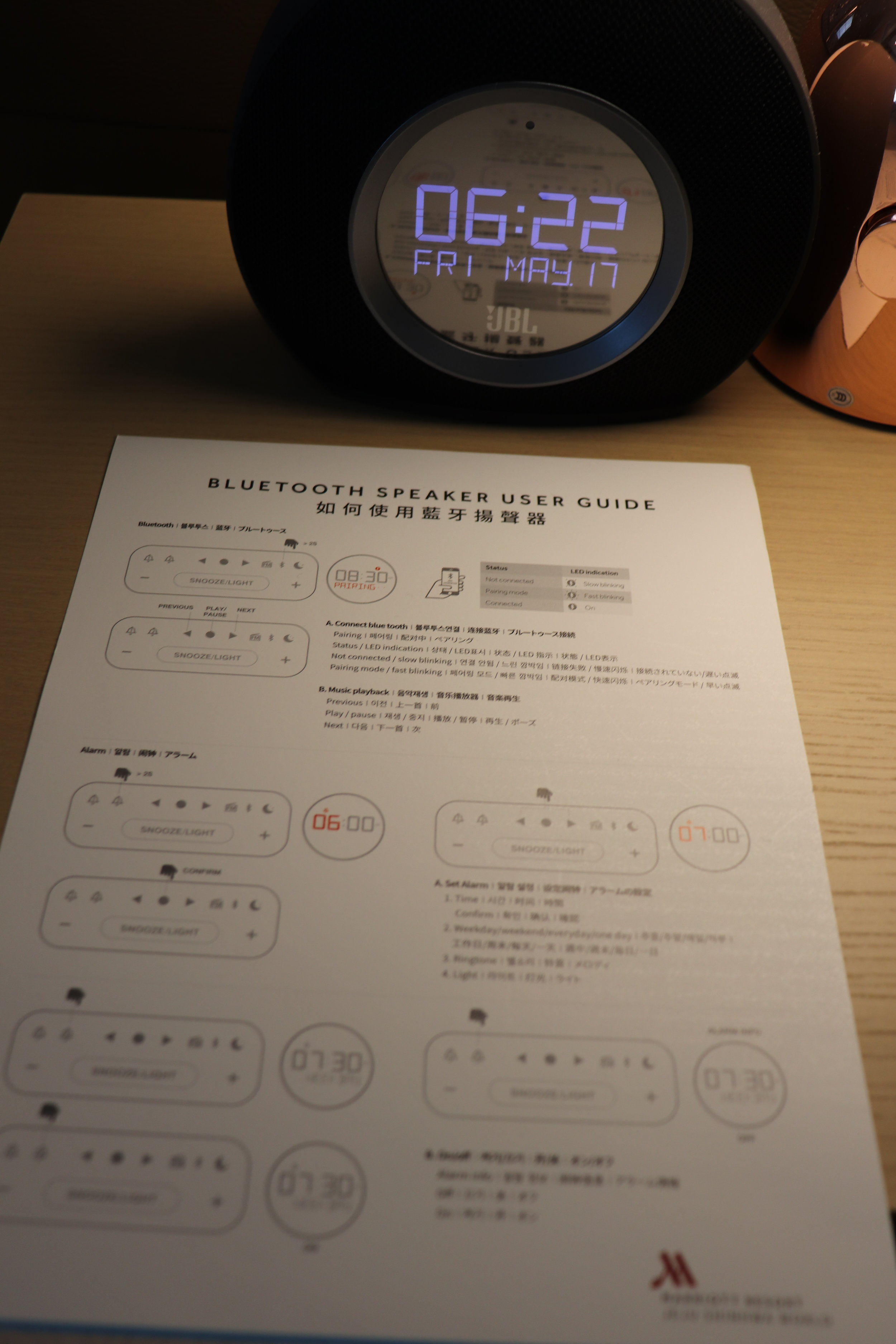 Clock And More Instructions