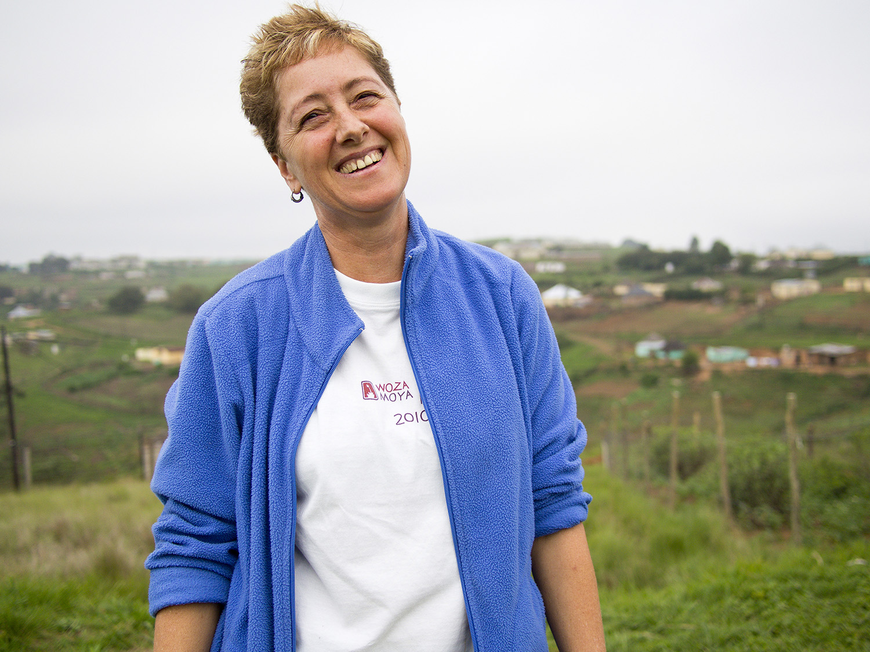 Woza Moya Ixopo's Founder and Director, Sue Hedden.