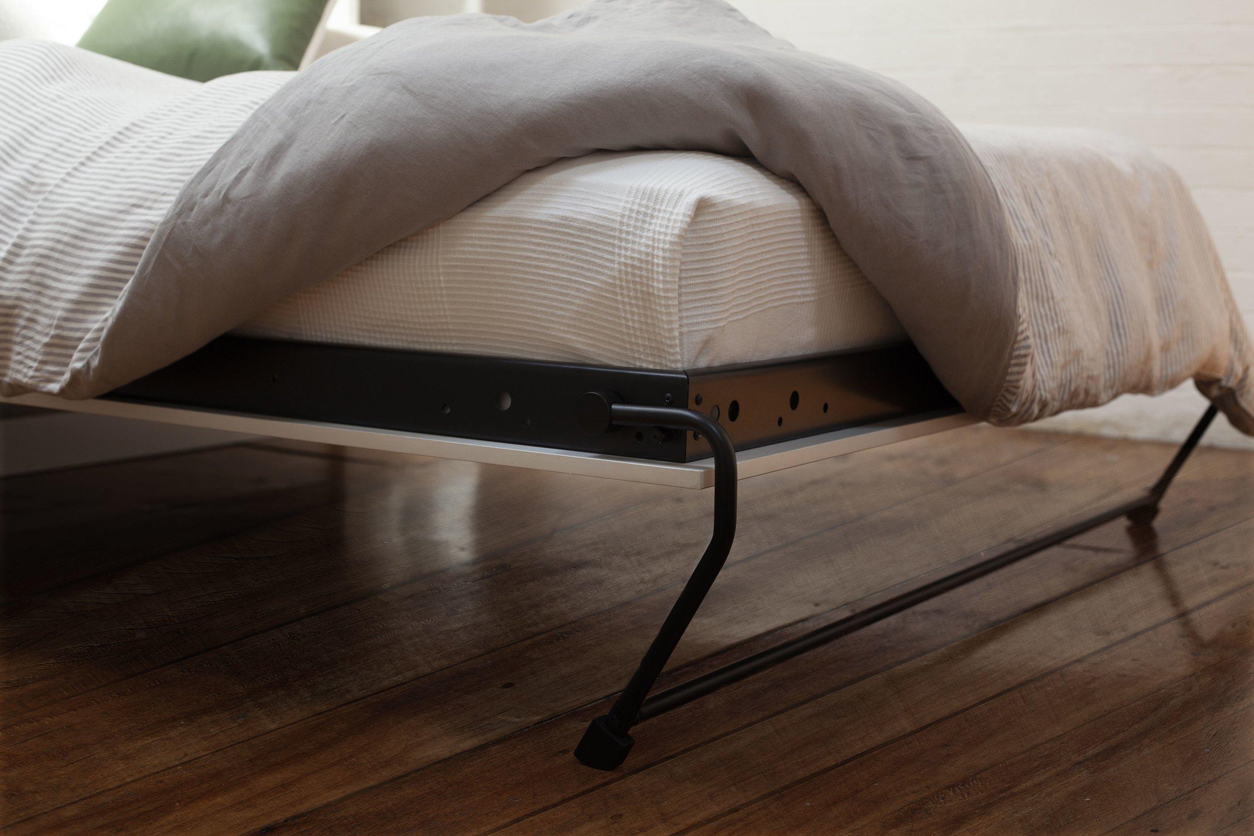 Alpha Bed Leg and Frame