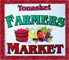 Tonasket Farmers Market - Seasonal, open-air market--since 1998--offering fresh fruit and vegetables from area farmers, as well as locally produced foods and handmade crafts.All goods at Tonasket Farmers Market are grown or made in Okanogan or Ferry County by the people who sell them.The Market is now open every Thursday.