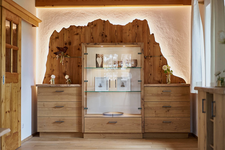 Schreiner Möbel für das Wohnzimmer - Schreinerei Andreas Gerg