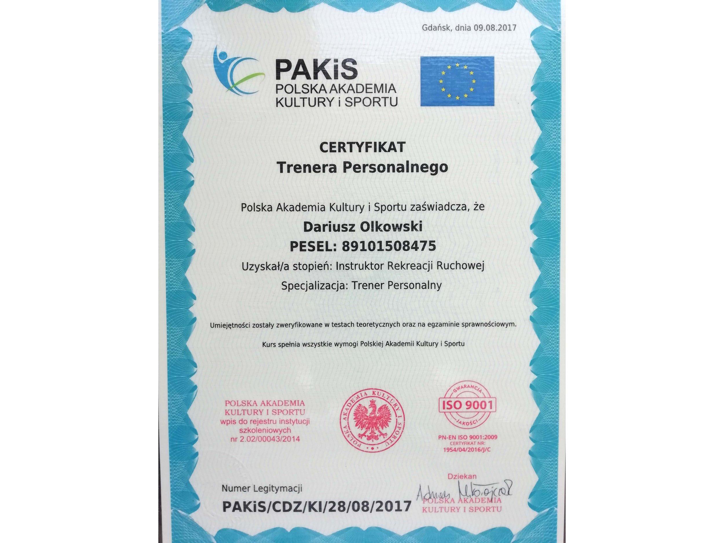 Dariusz Olkowski certyfikat 1.jpg