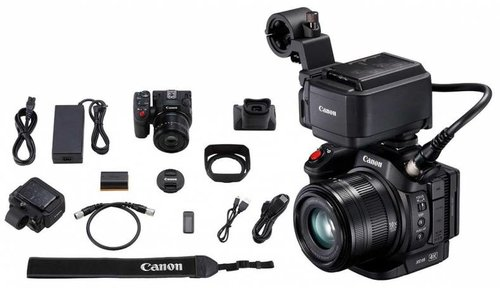 VIDEO4ALL - The Video 4 All kit is built for non video specialists around the Canon XC15 camera. You can easily make video, shoot and record perfect audio via two xlr inputs. This is the ideal device for journalists or sound technicians who want to make web video.