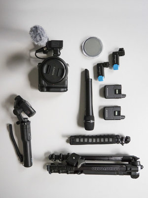 INDIE KIT (Low Light - Sony A7SIII) - The Indie kit (Low Light - Sony A7sII) is a model toolbox for web creators. The kit includes all common audio options and is built around the light sensitivity of the Sony A7sII. To make more dynamic images you can choose a Gopro / Karma gimbal. Now available at TOR.