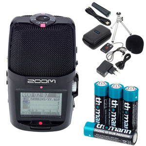 ZOOM H2N - Pocket stereo recorder. Ideal for field recording or for interviewing someone.