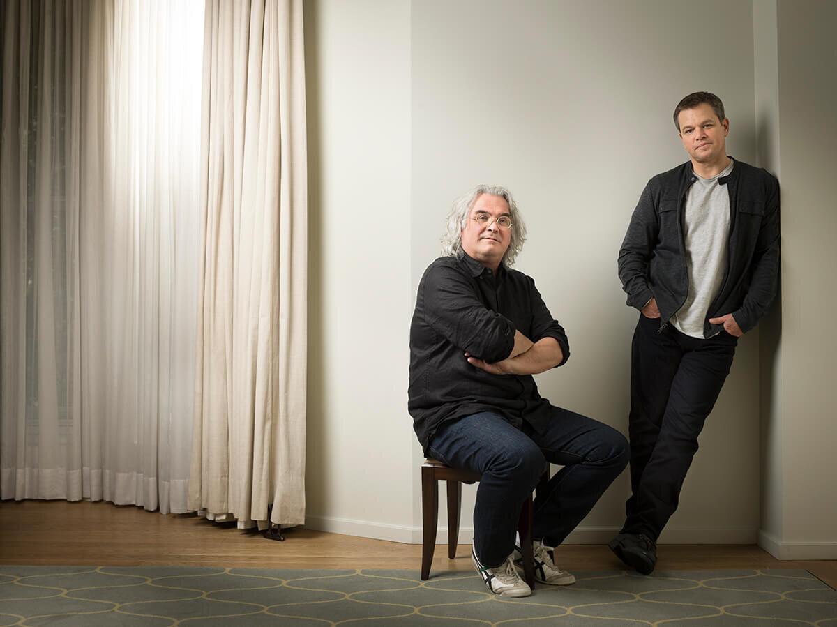Matt Damon and Paul Greengrass