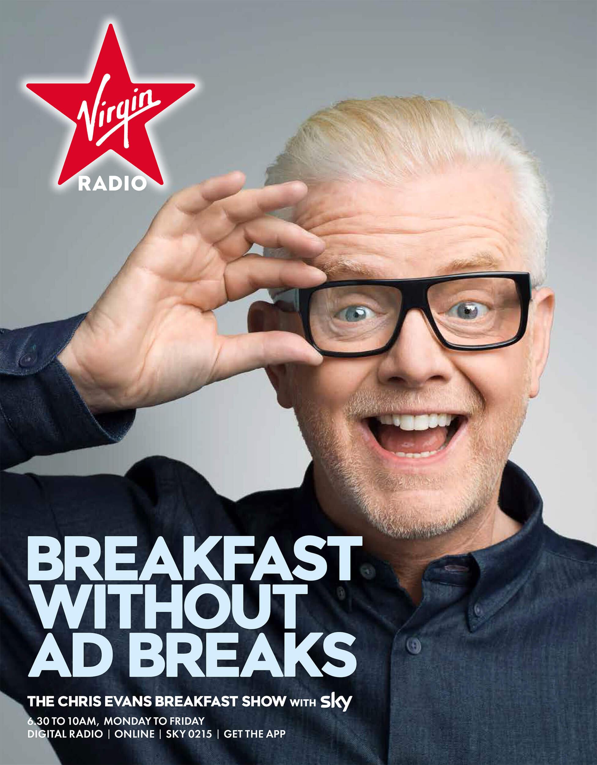 Chris Evans for Virgin Radia