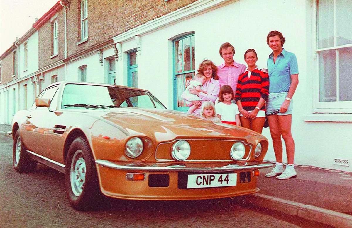 1979: The first Aston family holiday with friends in Kent