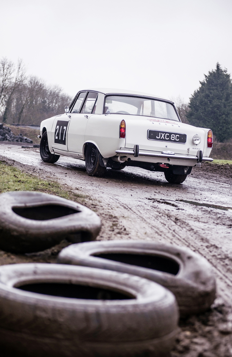 Rally potential of the Rover P6 was stifled by politics